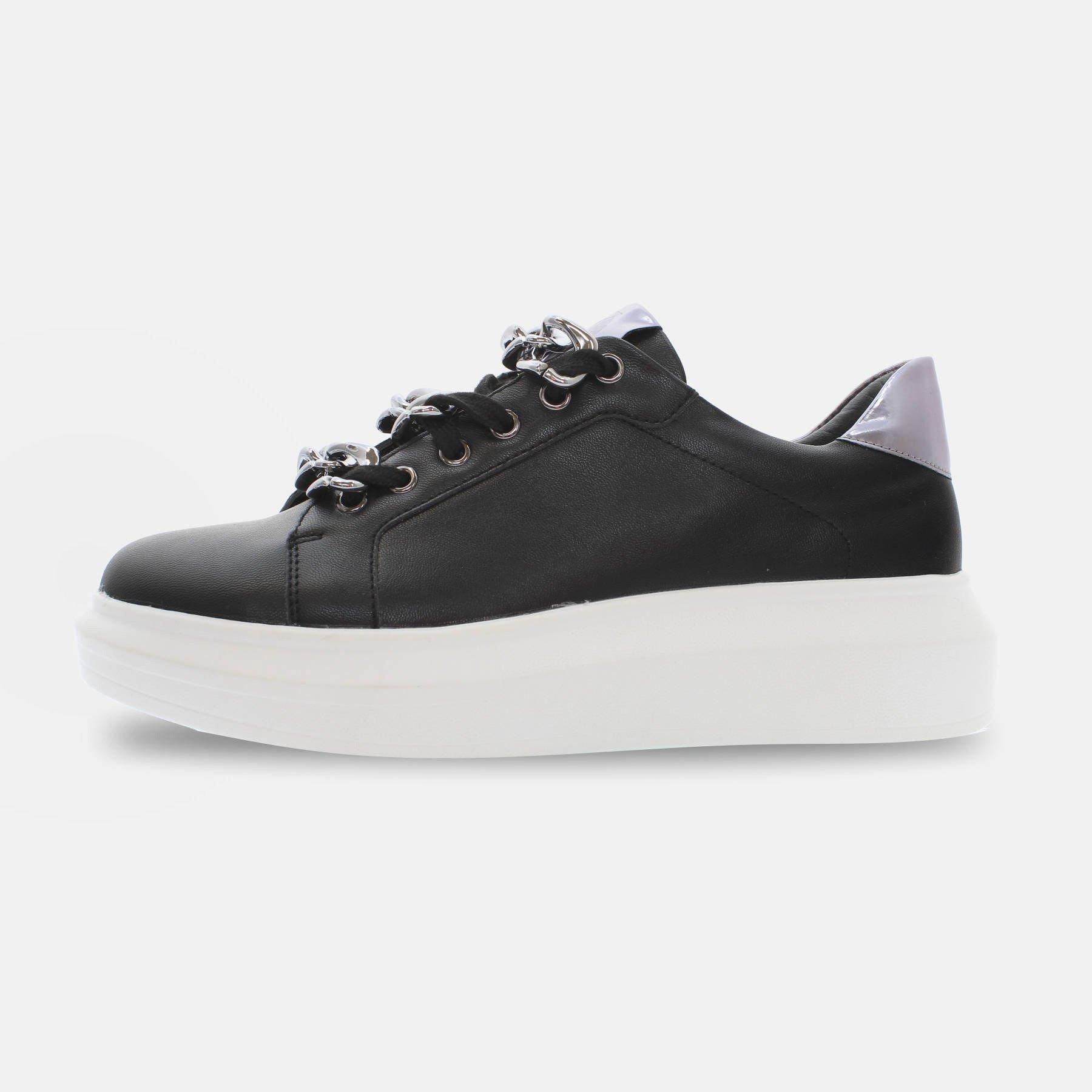 Kharisma Sneakers catena nero 2041