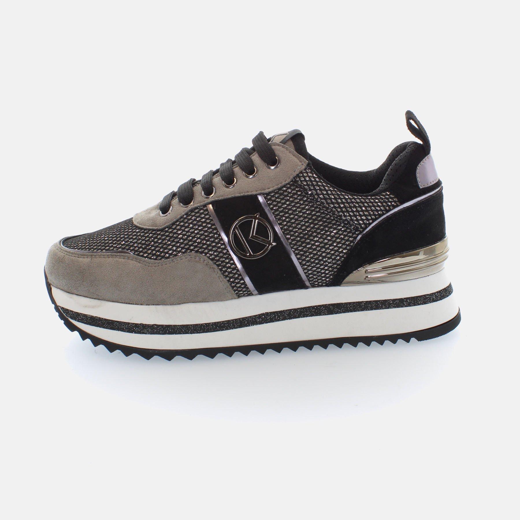 Kharisma Sneakers mesh dettagli grigio 2017