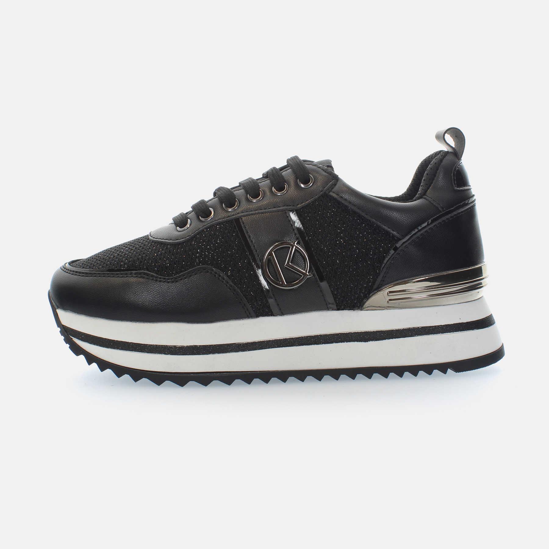 Kharisma Sneakers mesh nero 2017