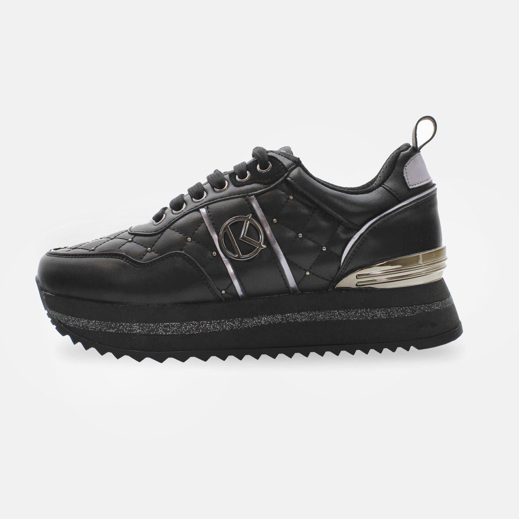 Kharisma Sneakers trapuntata dettagli nero 2013